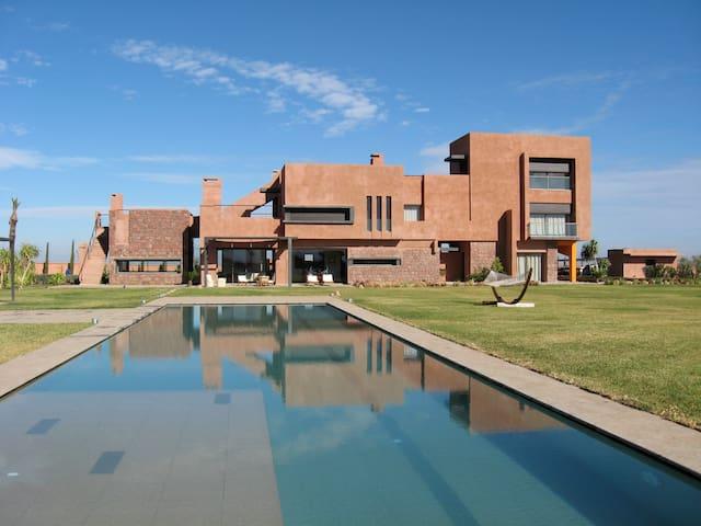 Superbe Villa avec vue sur l'Atlas - Marrakesh - Hus