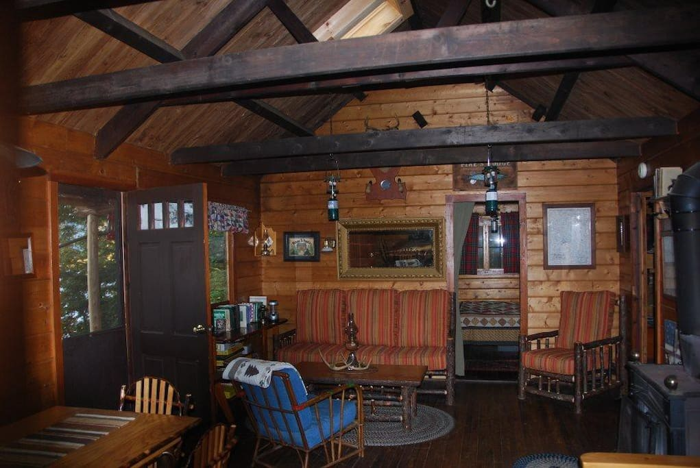 Remote Middle Saranac Lake Cabin Cabins For Rent In