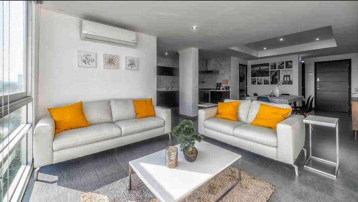 Luxury Chapultepec Full Apartment A/A + Pool & Gym