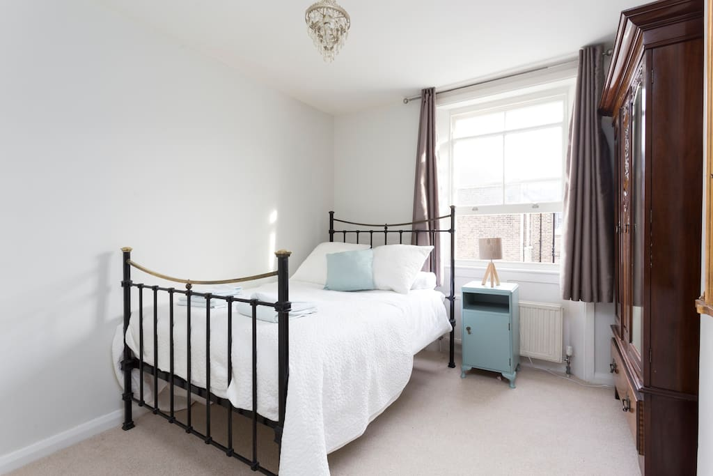 The 'antique bedroom' with a lovely vintage feel without compromising on comfort