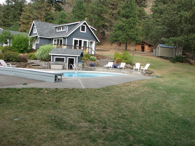 Pool House & Explorer's Base Camp - Mosier - Casa