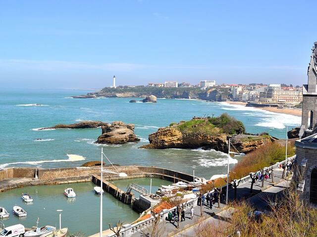 Au calme, face à l'océan. - Biarritz - Wohnung