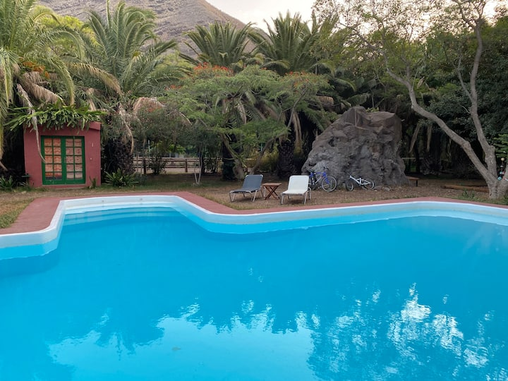 Casa de campo con piscina de uso exclusivo.  Wifi