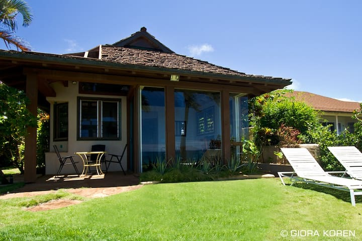 Oceanfront Ginger Cottage at Lani Paradise - Paia - Talo