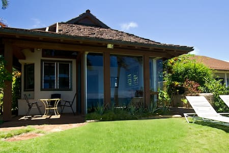 Oceanfront Ginger Cottage at Lani Paradise - Paia - Casa