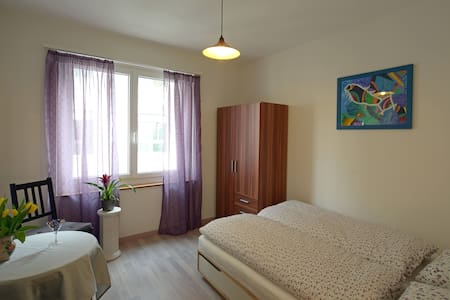 Cosy double room in Interlaken