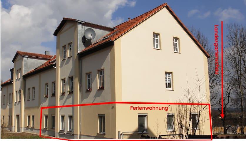 Holiday flat Landesgartenschau 2015 - Oelsnitz/Erzgebirge - Appartement