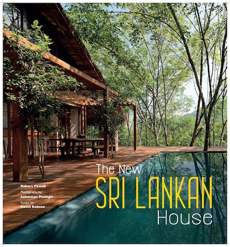 Front Cover of The New Sri Lankan House book