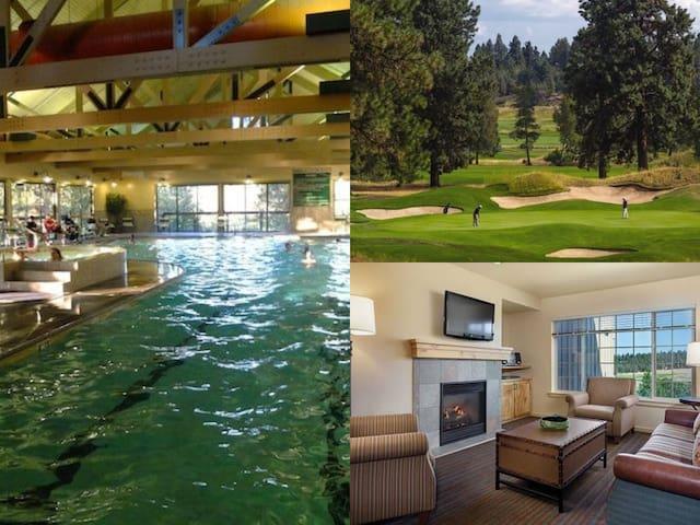 Running Y Resort 1 Bed (sleeps 4)~Pool~Golf Resort