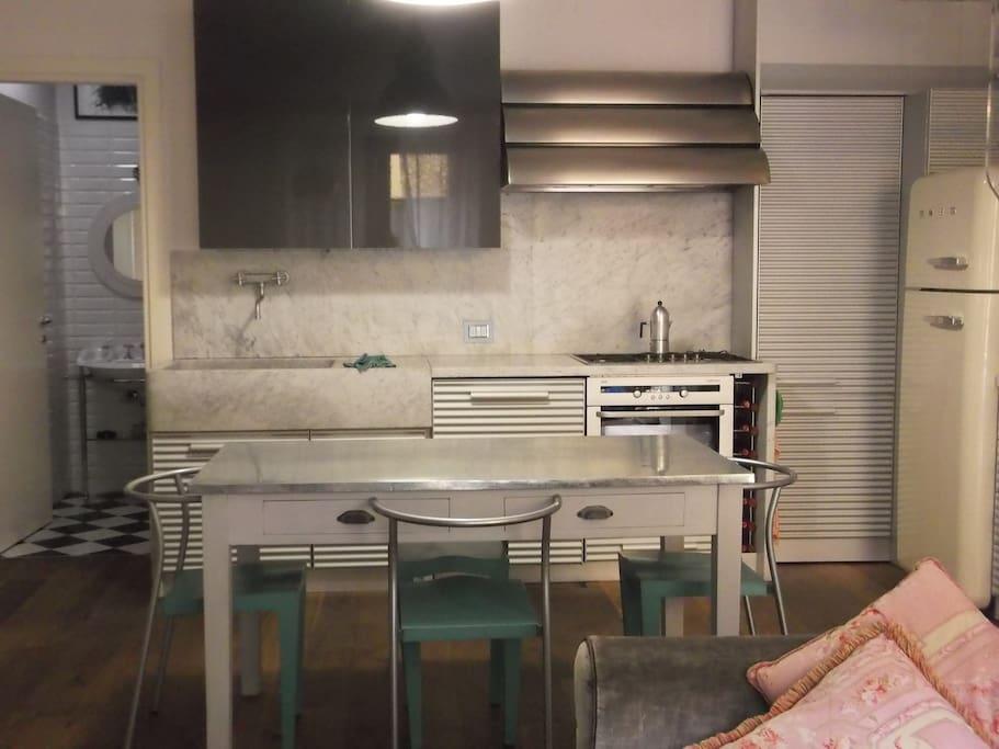 kitchen by shiffini