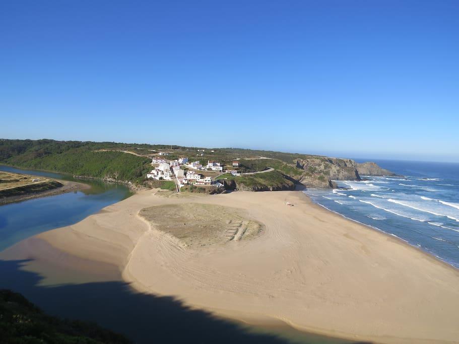 Vista Praia de Odeceixe