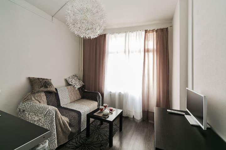 Белая студия для Двоих в Опалихе - Красногорск - Apartment