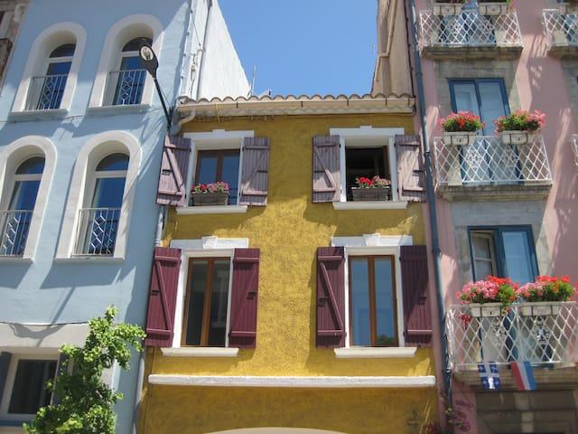Maison ancienne pleine de charme + deux terrasses