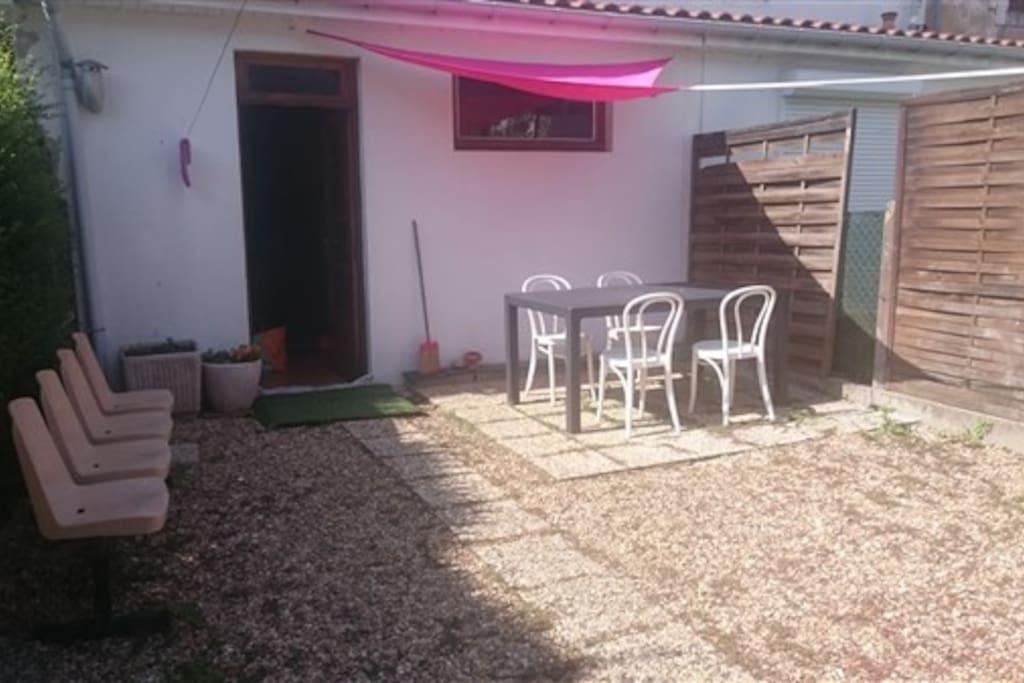 jardinet de 60 m2