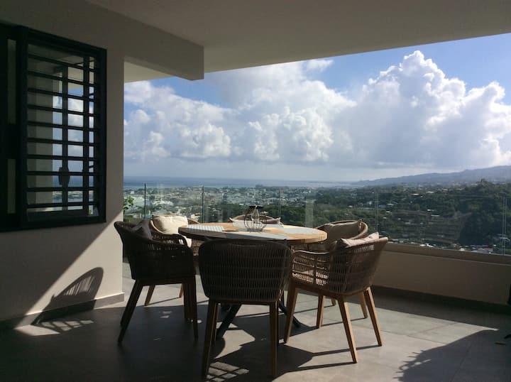 Appartement vue mer à Tahiti (Papeete)
