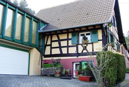 Maison alsacienne 4* avec jardin - Windstein