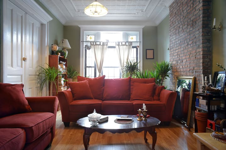 Private Bedroom in Spacious Apartment in Bed-Stuy - Brooklyn - Apartment