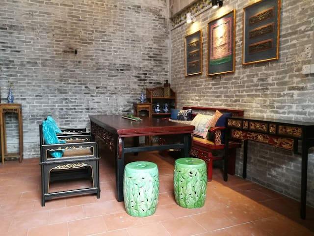千年古镇百年青砖大宅整栋 - Guangzhou - Huis