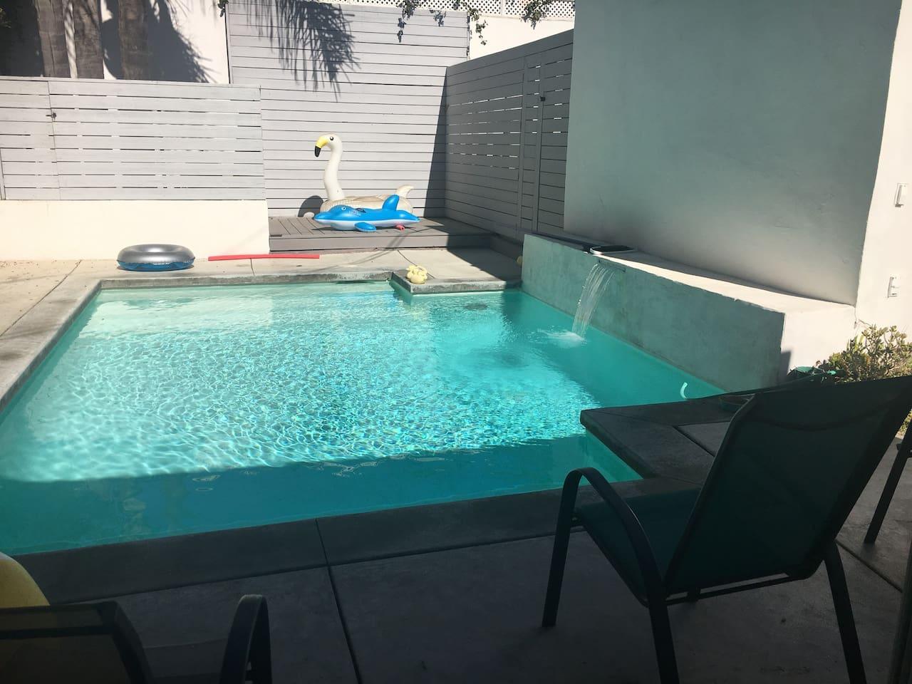 Nice, quiet, relaxing pool area :)