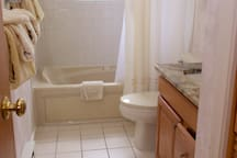 2nd Bathroom with Washer & Dryer