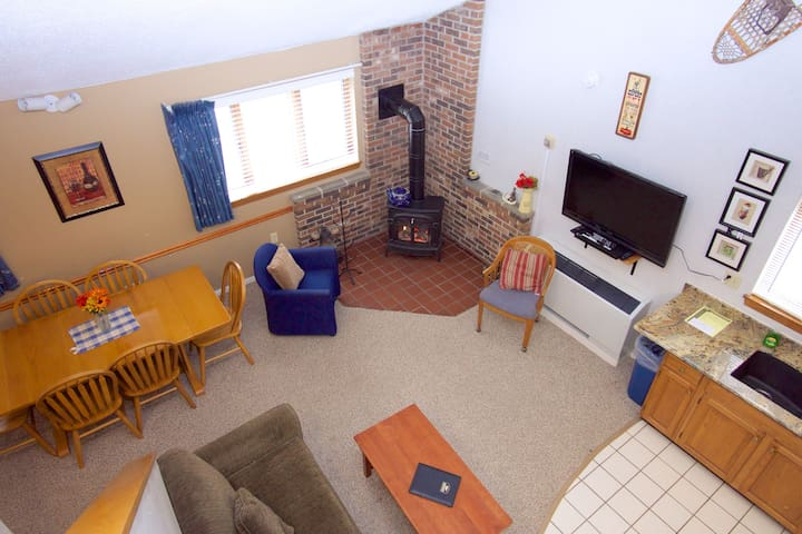 Attitash Mountain Resort Condo - Bartlett - Apartament