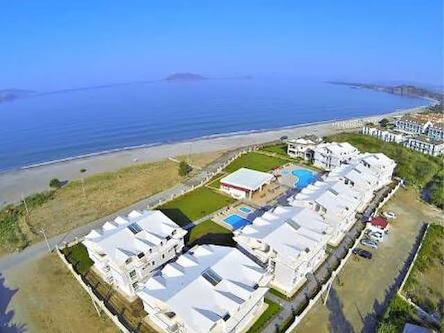 Plaja Sıfır Lüks 2+1 Tatil Evi