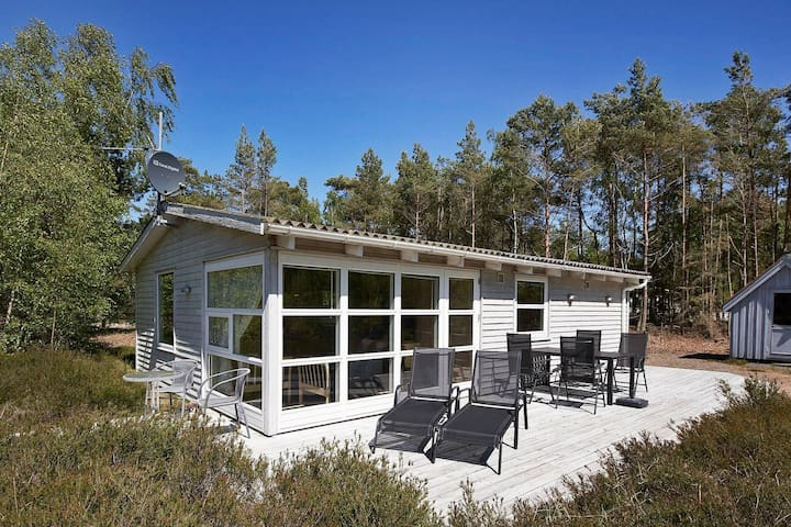 Quaint Holiday Home in Bornholm with Terrace