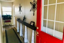 Entryway - Welcome!
