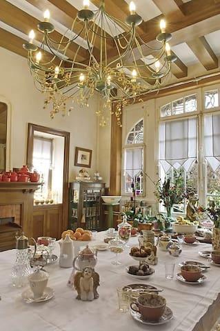 Chambre dans maison de maître. - Montauban-de-Bretagne