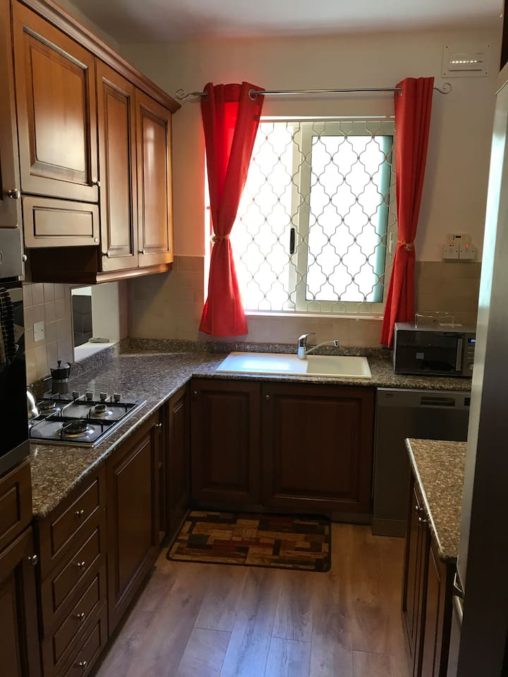 Fully equipped kitchen with all new appliances