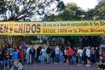 Alrededores - Feria de San Telmo