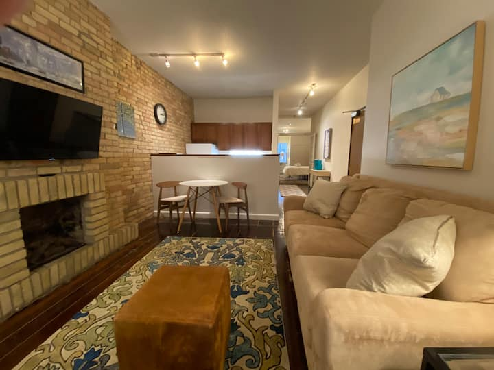 Energized Living - Exposed Brick Downtown