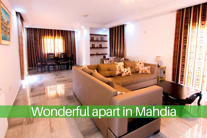 Splendid apartment Mahdia
