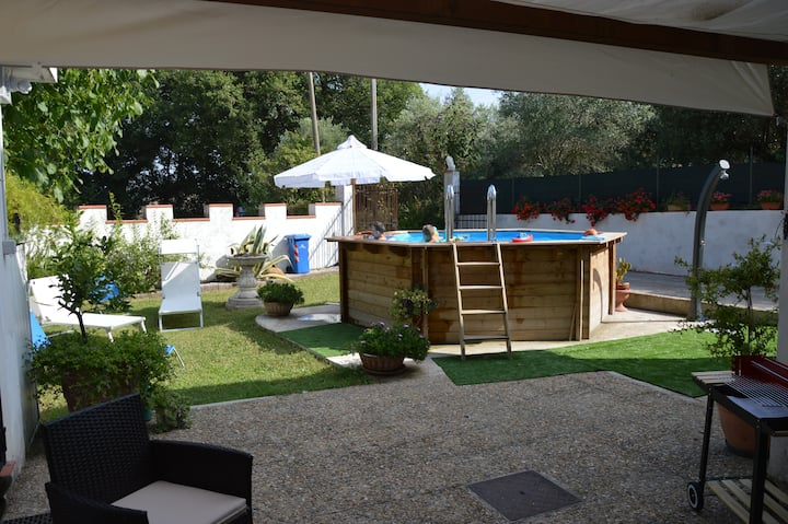 Le Querce house with swimming-pool