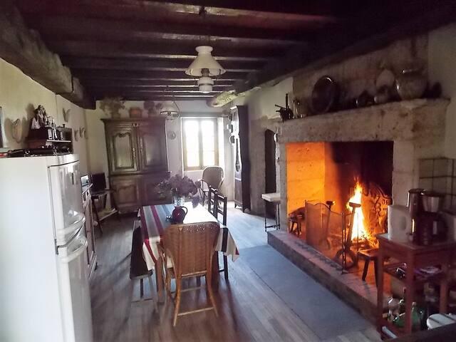 maison de campagne - Champagnac-de-Belair - Vakantiewoning