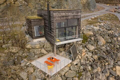 Sjarmerende hus med nydelig sjøutsikt