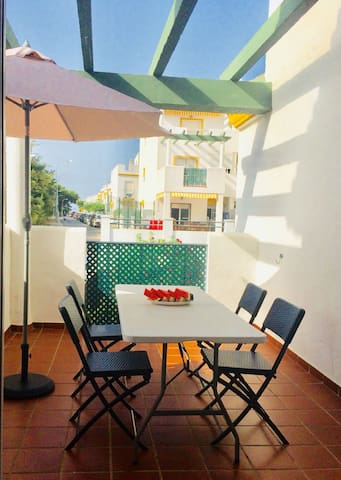 Apartment for 4 persons with swimming pool.