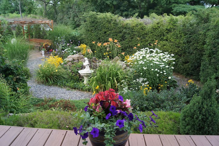 "The ""Secret Garden"""