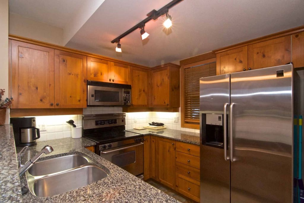 Beautiful Kitchen, Stainless Steel full size appliances