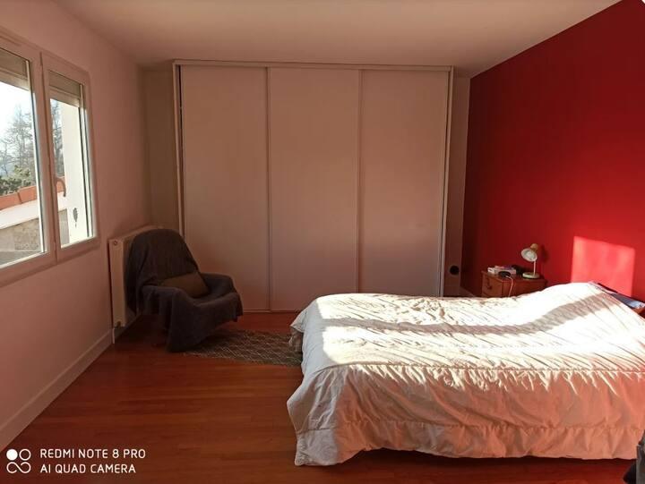 Chambre4 Villa la passerelle Puy en velay