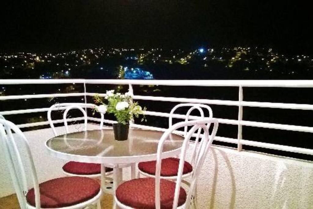 Vista nocturma desde Balcon