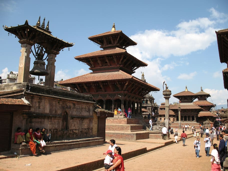 center of Patan city