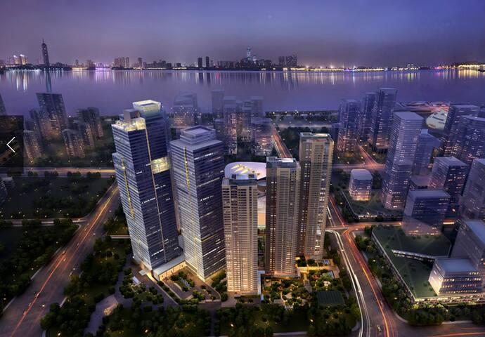 优宿公寓杭州万象城店豪华城景双床房 - Hangzhou - Daire