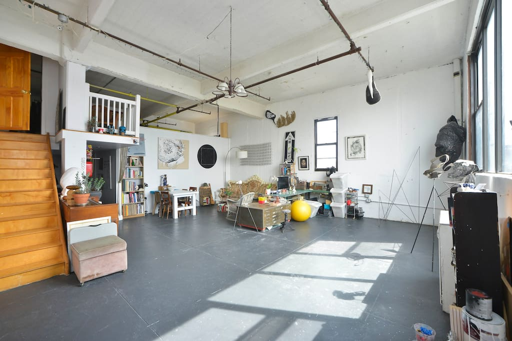 Spacious Room Home Artist Loft Lofts For Rent In Brooklyn New York Unit