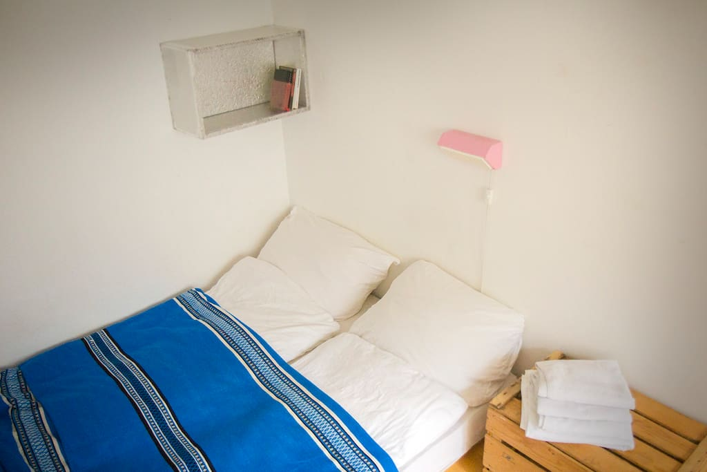 Double bed 140x200cm, for the two of you