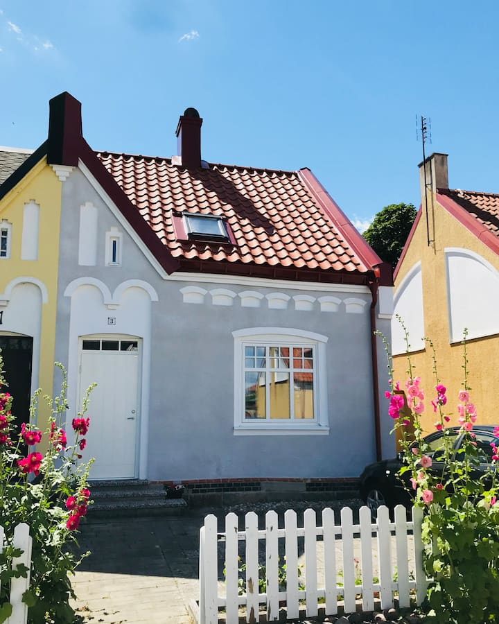 Townhouse in the heart of Ystad