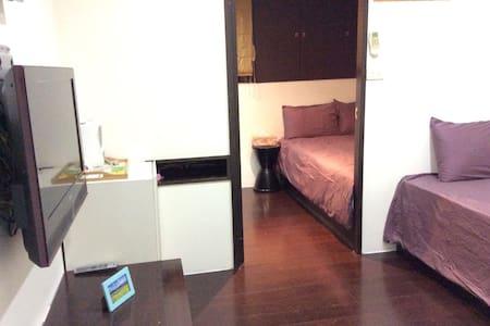 2張加大號單人床房