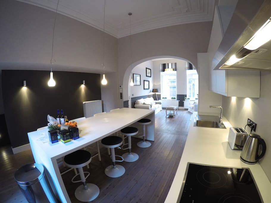 Open kitchen Cuisine ouverte