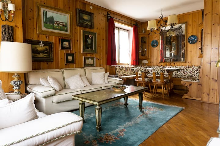 Flat with balcony in Cortina d'Ampezzo