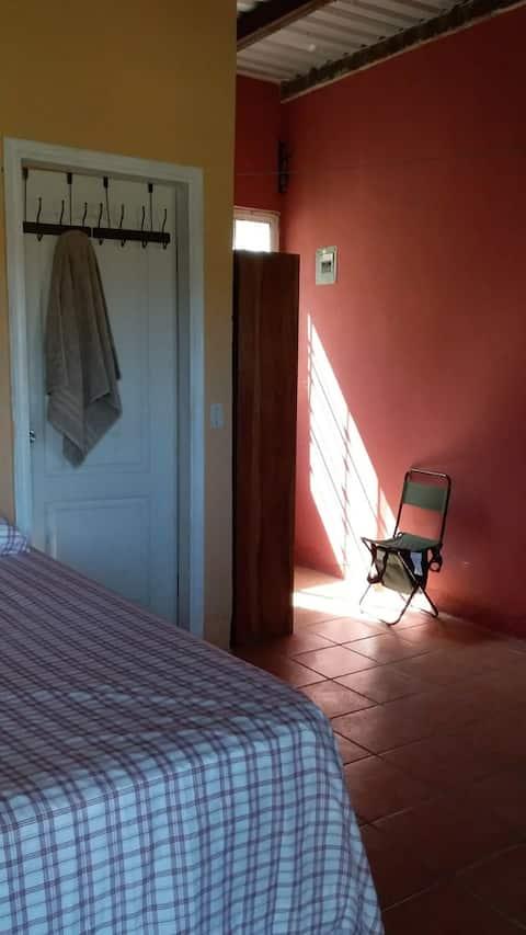 Habitación privada para los que quieren descansar